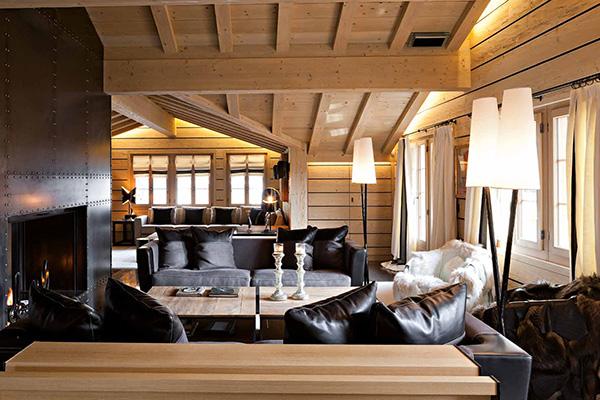 Case di montagna interni arredamento for Arredamento interni case
