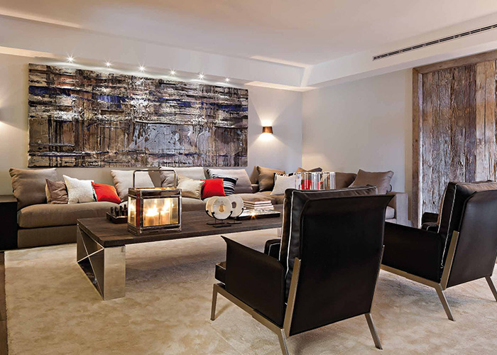 Arredamento moderno di design progettazione su misura for Arredamento interni case