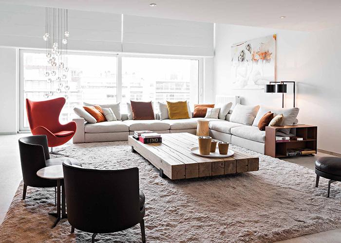 Arredamento moderno di design progettazione su misura for Ambienti interni moderni