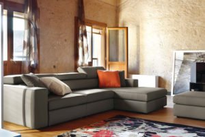 divano moderno blanca