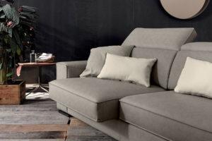 divano moderno Duvall allungabile
