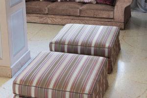 Pouff Dyck divano classico