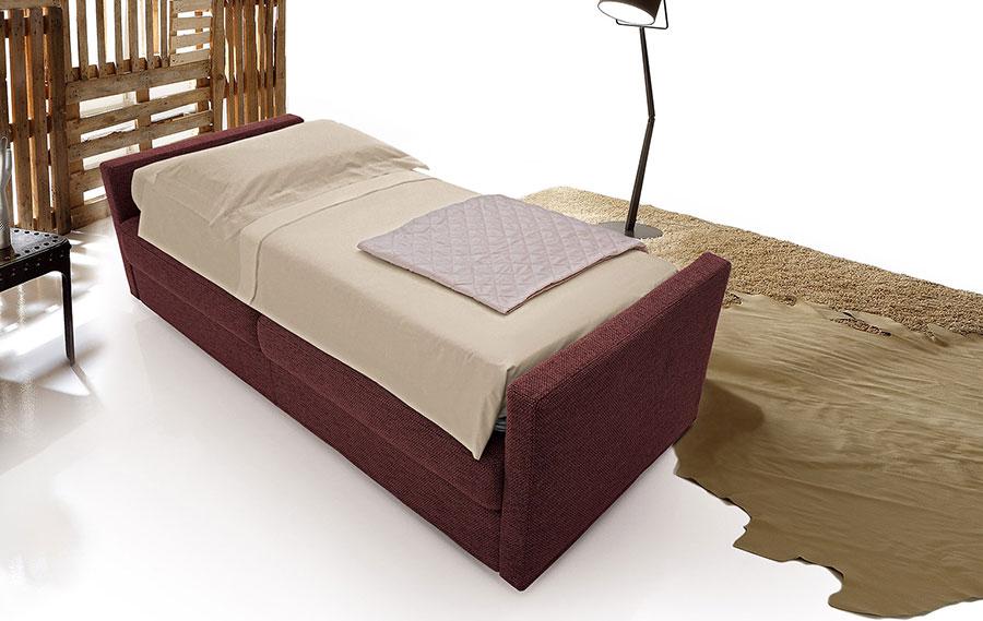Divano letto lido 39 singolo convert casa arredamento interni design - Letto singolo divano ...