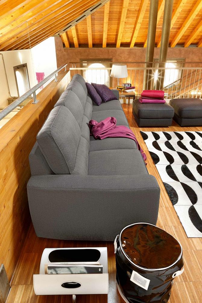 Divano moderno mix convert casa arredamento interni - Arredamento interni design ...