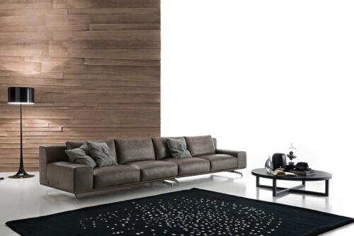 divano moderno Nolt pelle