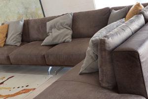 divano moderno Nolt cuscini