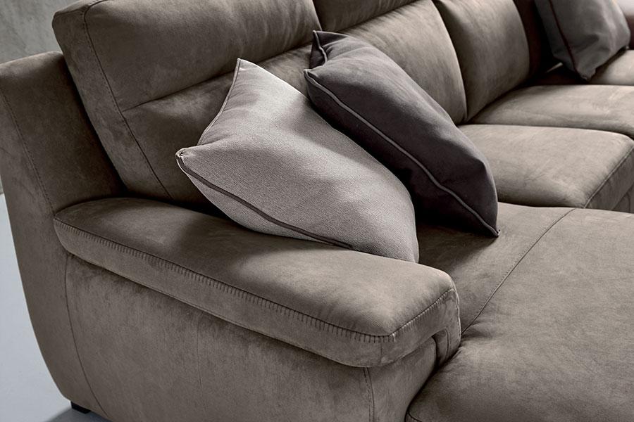 Divano moderno plauto cuscini convert casa arredamento interni design - Cuscini divano design ...