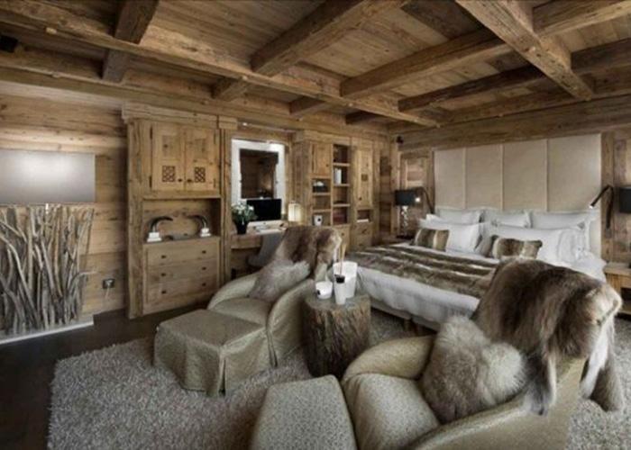 Arredamento montagna progettazione design su misura - Arredamento casa in montagna ...