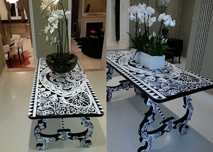Tavolo design arredamento convert casa arredamento for Casa interni design