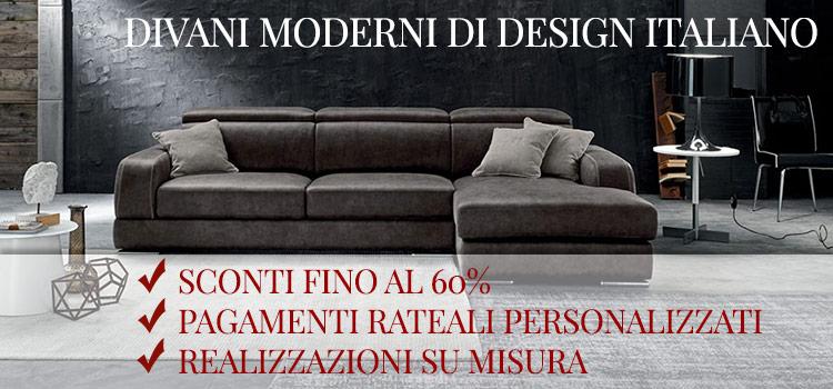 Divani moderni for Casa divani catalogo