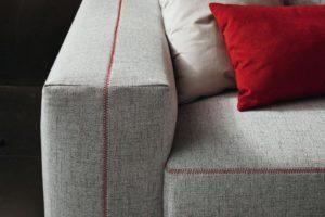 cuciture divano moderno Astrid