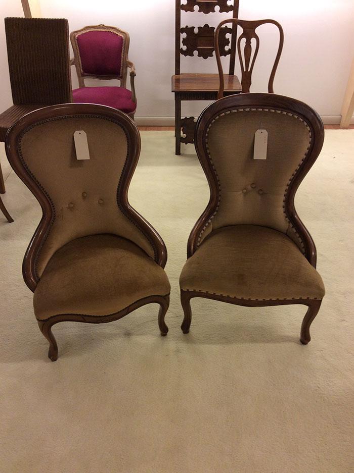 Sedie vintage velluto convert casa arredamento interni for Sedie vintage design