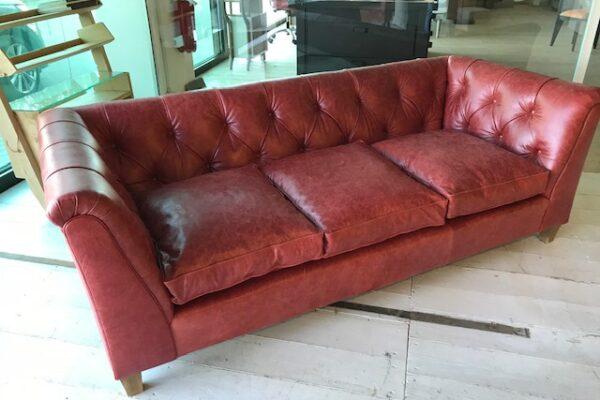 divano chester rosso