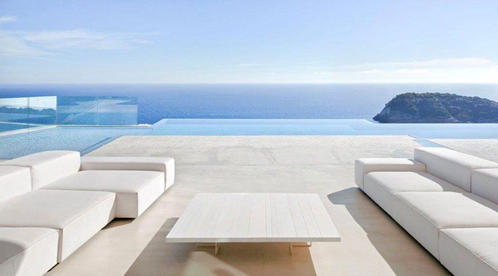 arredamento esterno casa mare