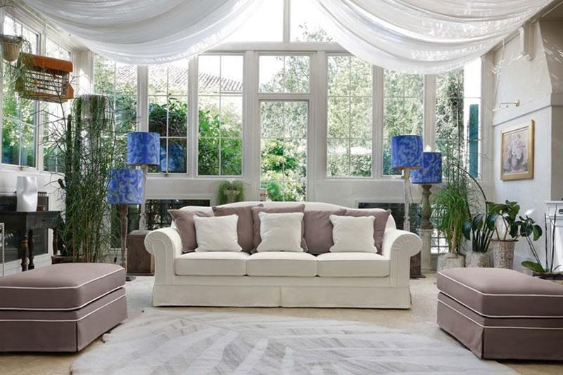 divano classico su misura