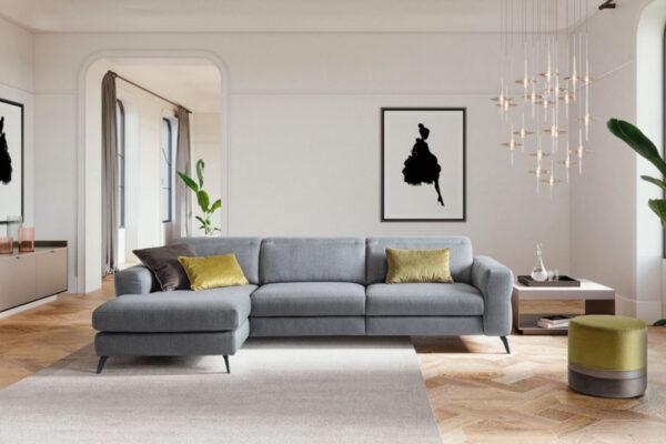 Garin divano moderno ad angolo